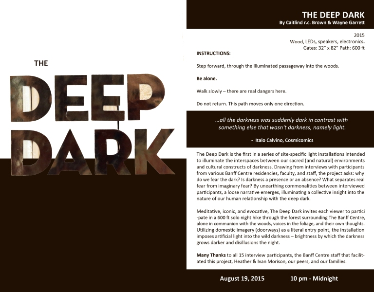 00 Deep Dark Invitation