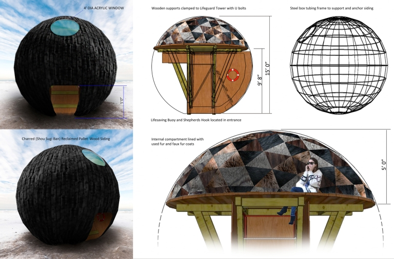 2015 - In the Belly of a Bear, internal rendering